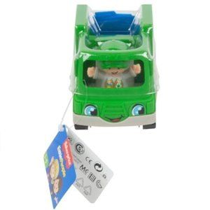 Fisher Price Little People Recycle Truck & Driver